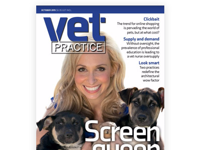 Vet Practice Magazine - October 2015 Cover